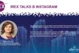 29 мая - IREX talks в Instagram. Присоединяйтесь!