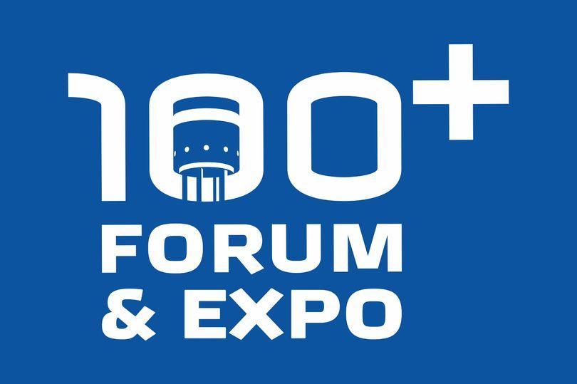 Логотип 100+ Forum&Expo