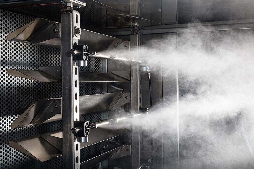 Промышленное оборудование для увлажнения воздуха