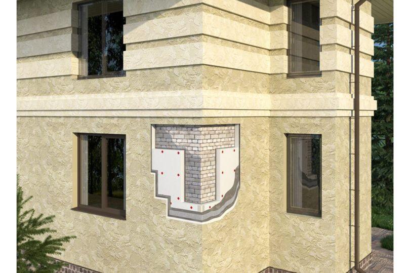 Технология внешней отделки и утепления зданий «мокрый» фасад