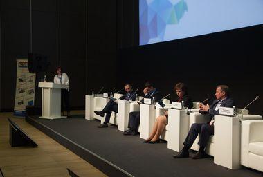 Дискуссия «Цифровое взаимодействие власти и бизнеса в строительной отрасли», 18 апреля 2018 года, Петербургский цифровой форум-2018