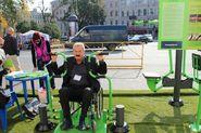 В Архангельской области строят самую большую в России спортивную площадку для  инвалидов