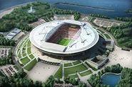 На конструкциях стадиона «Зенит-Арена» «залечат» трещины