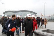 Инспекторы  FIFA посетили «Зенит-Арену»